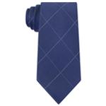 Calvin Klein Mens Classic Windowpane Necktie