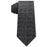 Calvin Klein Mens Etched Self-tied Necktie