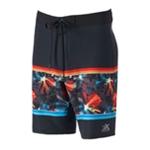 ZeroXposur Mens Shark Swim Bottom Board Shorts