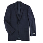 Michael Kors Mens Windowpane Formal Tuxedo