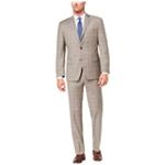 Michael Kors Mens Plaid Two Button Formal Suit