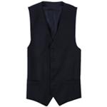 Michael Kors Mens Plaid Five Button Vest