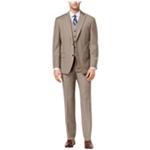 Michael Kors Mens 3 Piece Birdseye Two Button Formal Suit