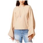 J.O.A. Womens Cotton Oversized Button Up Shirt