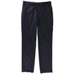 Michael Kors Mens Blue Check Dress Pant Slacks