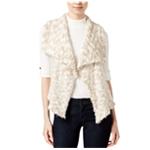 Kensie Womens Draped Chunky Fashion Vest