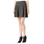 Kensie Womens Plaid A-line Skirt