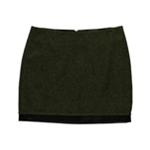 Kensie Womens Tweed Mini Skirt