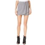 Kensie Womens Faux-Suede Mini Skirt