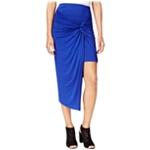 Kensie Womens Knot Asymmetrical Skirt