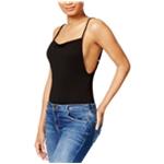Kensie Womens Ribbed Low-Back Bodysuit