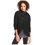 Kensie Womens Draped Ponte Jacket