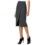 Kensie Womens Faux Wrap Pencil Skirt