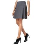 Kensie Womens Crepe A-line Flared Skirt