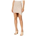 Kensie Womens Faux Suede Asymmetrical Skirt