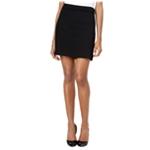 Kensie Womens Ponte A-line Mini Skirt