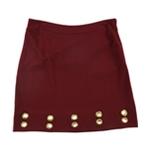 Kensie Womens Gold Grommet Pencil Skirt