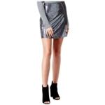 Kensie Womens Sequined Mini Skirt