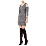 Kensie Womens Cold Shoulder Bodycon Dress