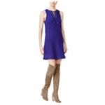 Kensie Womens Cable A-line Dress