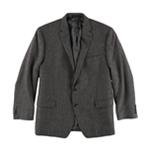 Ralph Lauren Mens Textured Two Button Blazer Jacket