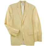 Ralph Lauren Mens Solid Two Button Blazer Jacket