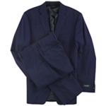 Ralph Lauren Mens Double Windowpane Two Button Formal Suit