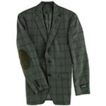 Ralph Lauren Mens Windowpane Two Button Blazer Jacket