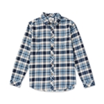 Billabong Mens Coastline Flannel Button Up Shirt