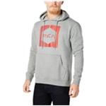 RVCA Mens Inverted Hex Logo Hoodie Sweatshirt