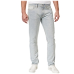 GUESS Mens Destroyed Slim Fit Jeans