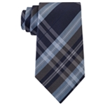 Kenneth Cole Mens Classic Plaid Self-tied Necktie