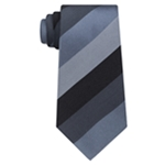 Kenneth Cole Mens Jupiter Stripe Silk Self-tied Necktie