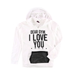 Material Girl Womens Knit Hoodie Sweatshirt