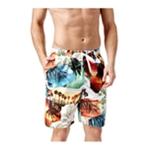 Newport Blue Mens Blue Sunset Strip Swim Bottom Board Shorts