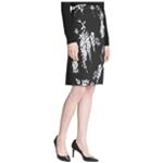 Calvin Klein Womens Floral Pencil Skirt