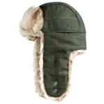 Woolrich Mens Wool Blend Trapper Hat
