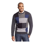 Tricots St Raphael Mens Patchwork Puzzle Pullover Sweater