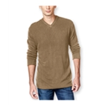 Tricots St Raphael Mens Solid Textured Chest Pullover Sweater
