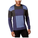 Tricots St Raphael Mens Patchwork Colorblock Pullover Sweater