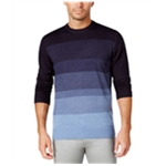 Tricots St Raphael Mens Colorblock Striped Pullover Sweater