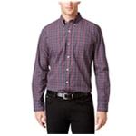 Tricots St Raphael Mens Plaid Button Up Shirt
