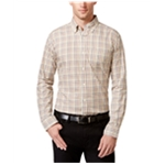 Tricots St Raphael Mens Tattersall LS Button Up Shirt