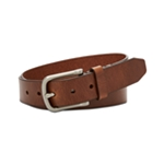 Fossil Mens Alex Leather Belt
