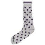 Bloomingdale's Mens Big Dots Midweight Socks