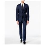 Calvin Klein Mens Birdseye Two Button Blazer Jacket