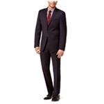 Calvin Klein Mens Textured Two Button Formal Suit