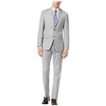 Calvin Klein Mens Sharkskin Two Button Formal Suit