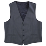 Calvin Klein Mens Check Four Button Vest