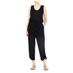 Catherine Malandrino Womens Embroidered Jumpsuit